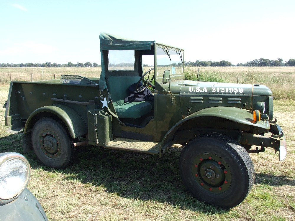 For Sale 1942 Dodge Weapon Carrier Wartime Vehicle