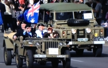 Anzac Day Parade 2018