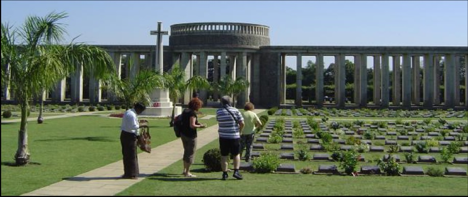 Visit to Commonwealth War Graves Cemetery Burma