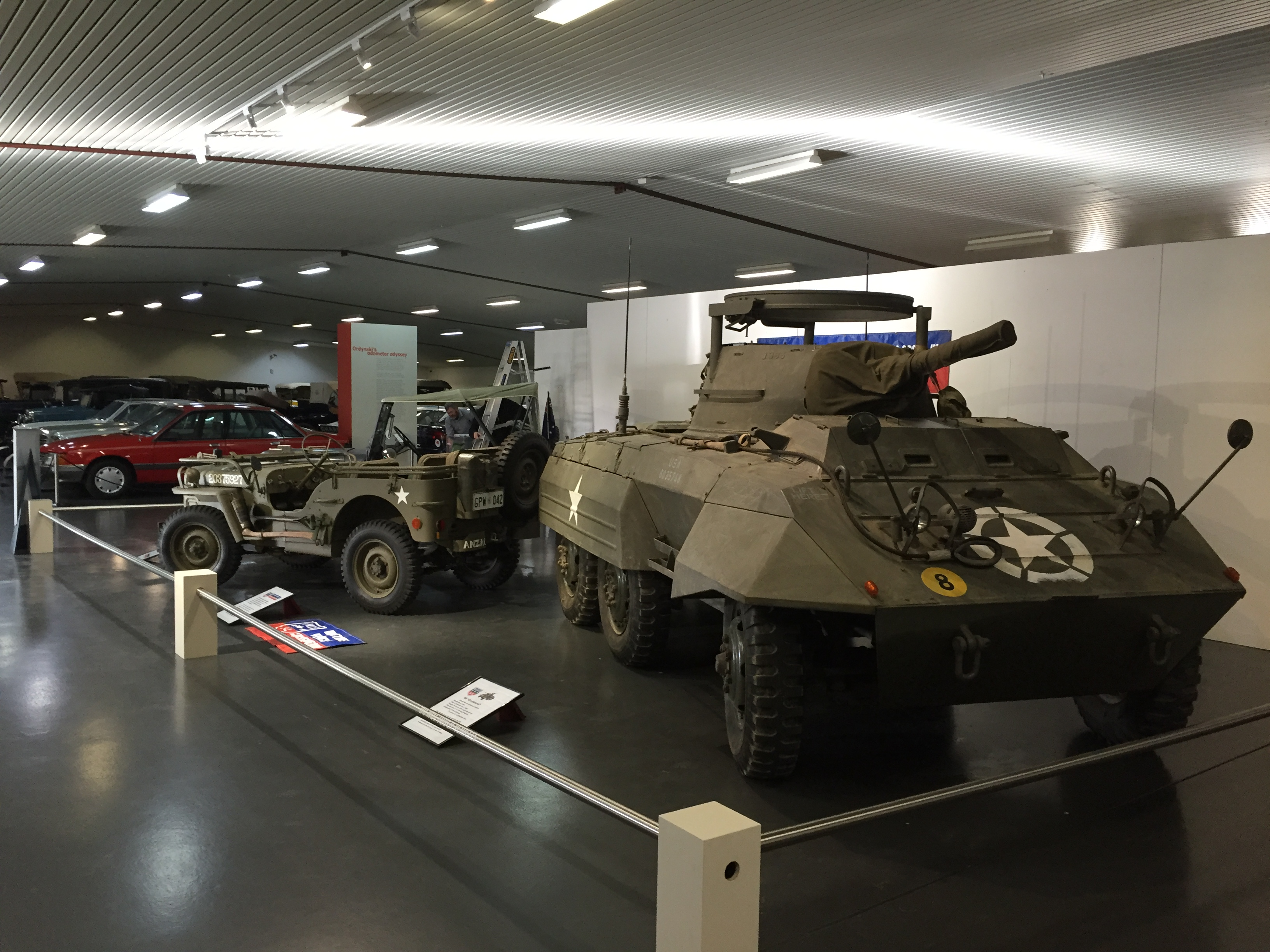 Wvcg Vehicles At The National Motor Museum Wartime